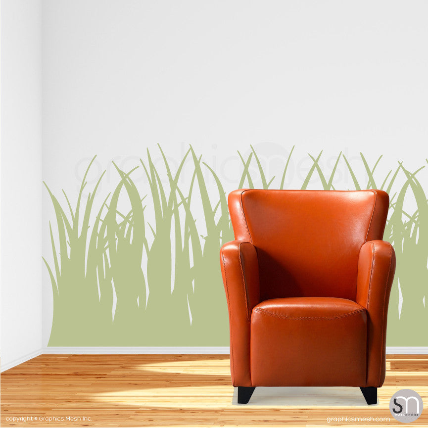 TALL GRASS - Wall Decals sage