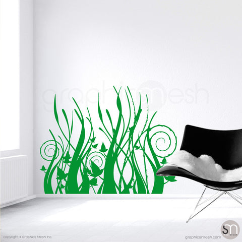 TRIBAL GRASS - Wall Decals Grass