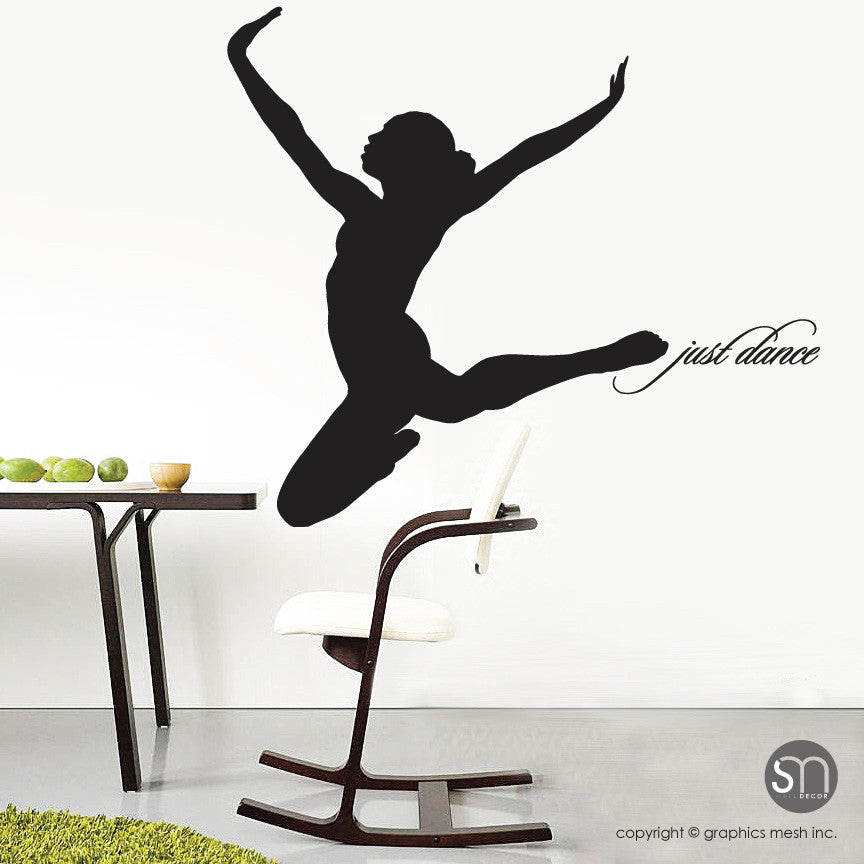 Dancer Silhouette Just Dance Wall Decal Graphicsmesh