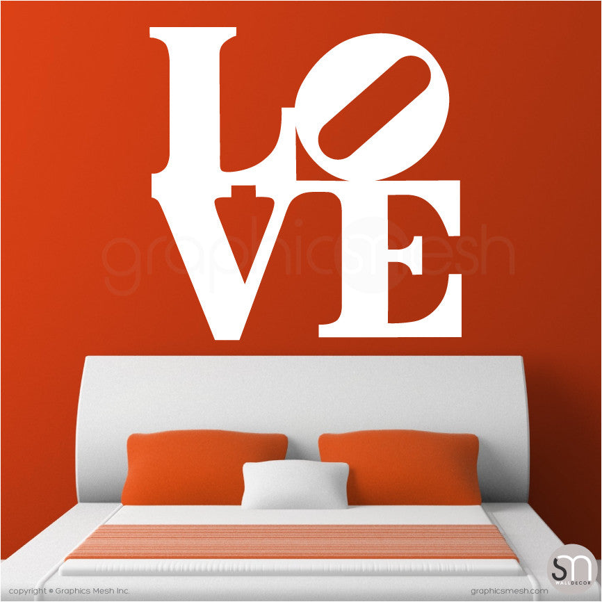 OVERSIZED LOVE   Pop Art Wall Decals ... Part 68