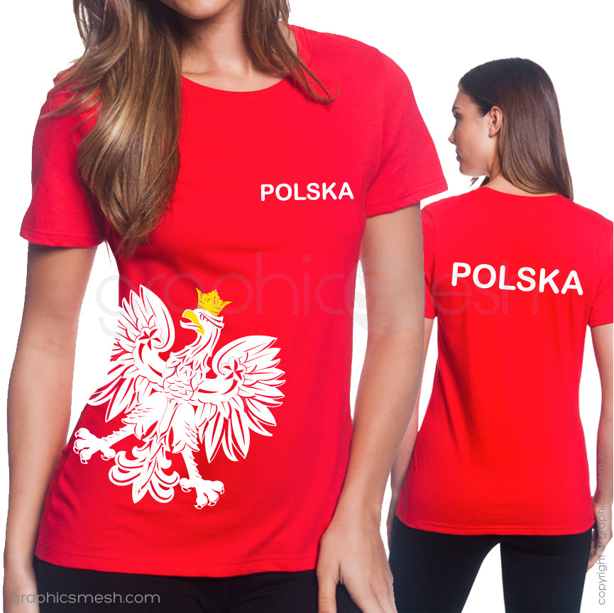 POLSKA WHITE EAGLE - Patriotic shirt