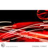 RED LIGHTS - Abstract Wall Mural original