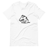Colorful Hippo Unisex T-Shirts