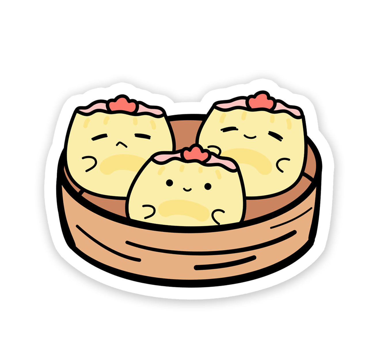 siu mai vinyl sticker