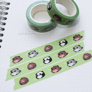 tapioca buddies washi
