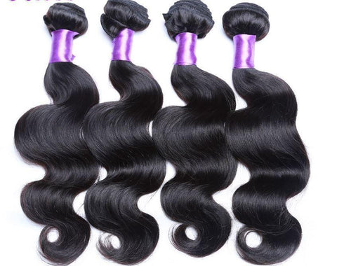 Virgin Hair Extension Brazilian Loose Wave body Wave malaysian peruvian human virgin hair kinky curly