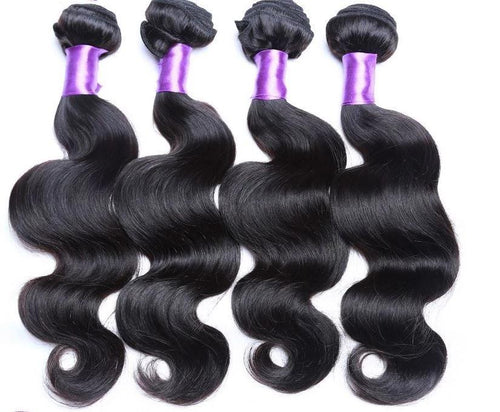 Peruvian Brazilian Malaysian Body Wave Virgin Human Hair