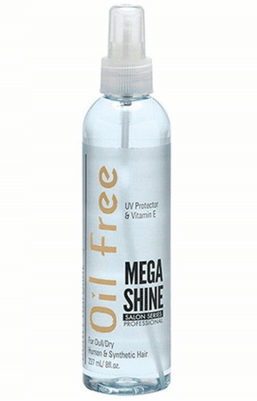 Bonfi Natural Oil FreeMega Shine 8 oz