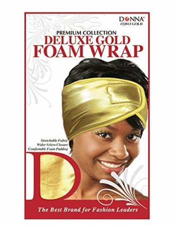 Donna Deluxe Foam Wrap Gold #22013
