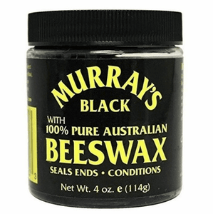 Murray's Bees Wax Black 3.5 oz
