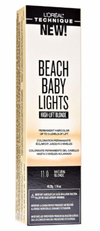 L'Oreal Beach Baby Lights High Lift Blonde Permanent Hair Color Natural Blonde 11.0