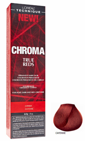 L'Oreal Chroma True Reds Permanent Hair Color Cayenne