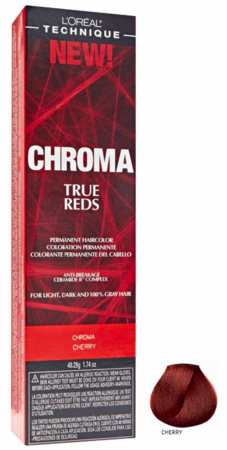 L'Oreal Chroma True Reds Permanent Hair Color Cherry