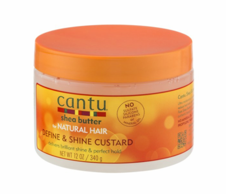 Cantu Shea Butter for Natural Hair Define & Shine Custard 12 oz