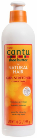 Cantu Natural Curl Stretcher Cream Rinse 10 fl oz