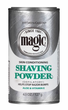 Magic Skin Conditioning Shaving Powder with Aloe & Vitamin E 4.5 oz