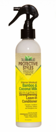 Taliah Waajid Bamboo And Coconut Milk Strengthening Leave in Conditioner 8 oz