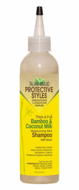 Taliah Waajid Thick and Full Bamboo & Coconut Milk Shampoo 8 oz