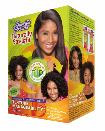 Texture Manageability System: Naturally Straight Shampoo and Conditioner.
