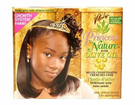 Vitale Princess by Nature No Lye Conditioning Creme Relaxer Kit Regular