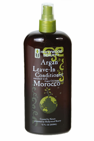 Hollywood Beauty Argan Leave In Conditioner 12 oz