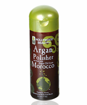 Hollywood Beauty Argan Oil Polisher 6 oz