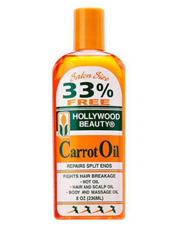 Hollywood Beauty Carrot Oil Hair & Scalp Treatment 8 oz