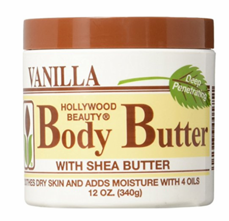 Hollywood Beauty Body Butter with Shea Butter and Vitamin E 12 oz