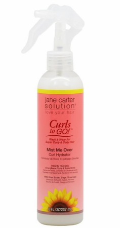 Jane Carter Solution Curls to Go! Wash & Wear Curl Hydrator Mist Me Over 8 fl oz