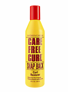 Care Free Snap Back Curl Restorer 8 oz