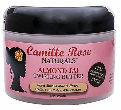 Camille Rose Naturals Almond Jai Twisting Butter 8 oz