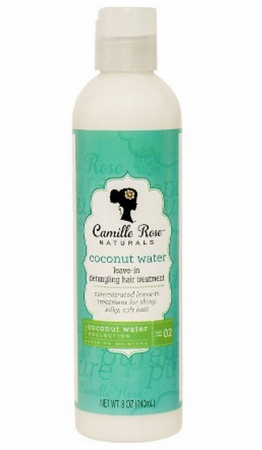 Camille Rose Naturals Coconut Water Leave In Treatment 8 oz