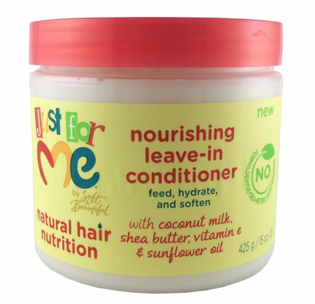 Just For Me Natural Hair Nutrition Nourishing Leave In Conditioner 15 oz