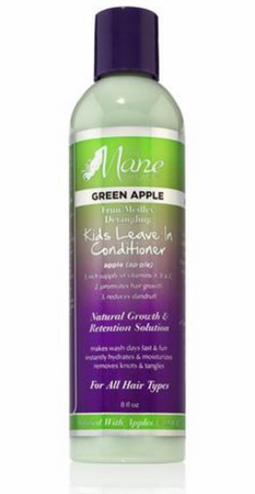 The Mane Choice Green Apple Fruit Medley Detangling Kids Leave In Conditioner 8 oz