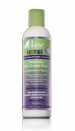 The Mane Choice Baby Moisturizing Oil + Lotion Fusion 8 oz