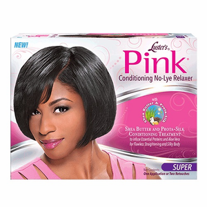 Luster's Pink Conditioning No Lye Creme Relaxer Kit Super Strength Formula: