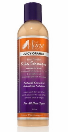 The Mane Choice Juicy Orange Fruit Medley Kids Shampoo 8 oz