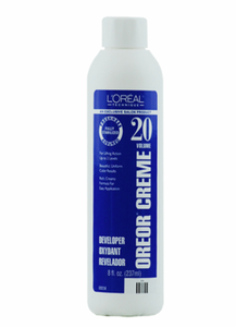 L'Oreal Oreor 20 Volume Creme Developer 8 oz