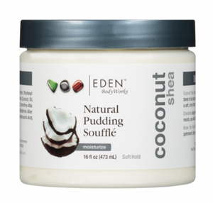 Eden Body Works Coconut Shea Pudding Souffle 16 oz
