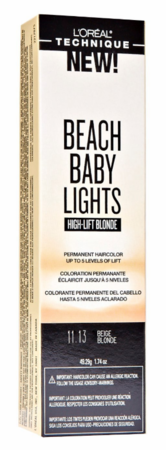 L'Oreal Beach Baby Lights High Lift Blonde Permanent Hair Color Beige Blonde 11.13 1.74 oz