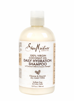Shea Moisture 100% Extra Virgin Coconut Oil Daily Hydration Shampoo 13 oz