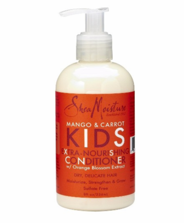 SheaMoisture Mango & Carrot Kids Extra Nourishing Conditioner   8 fl ozpump bottle