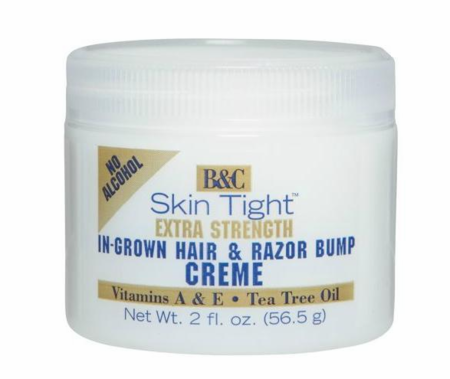 B & C Skin Tight In Growth Hair & RazorBump Creme Extra Strength 2 oz