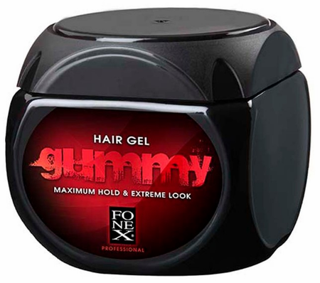 Gummy Hair Gel Maximum Hold 16.9 oz