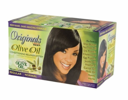 Africa's Best Organics Olive Oil Conditioning Relaxer Regular