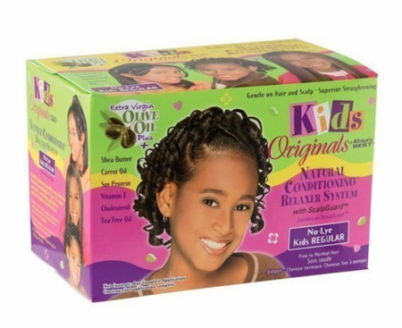 Africa's Best Kids Originals Olive Oil Natural Conditioning Relaxer System Regular
