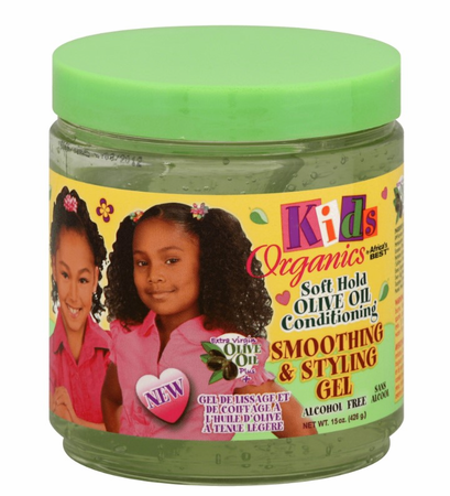 Africa's Best Kids Originals Soft Hold Olive Oil Styling Gel 15 oz