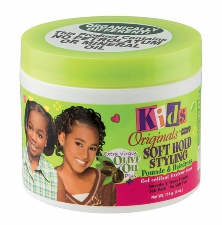 Africa's Best Kids Originals Soft Hold Styling Pomade 4 oz