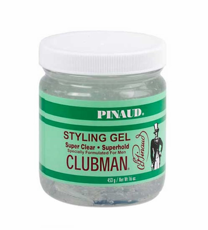 Clubman Pinaud Super Clear Super Hold Gel 16 oz