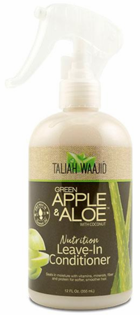 Taliah Waajid Green Apple & Aloe Nutrition Leave In Conditioner 12 oz